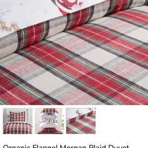 Pottery Barn Kids Bedding - Twin flannel duvet covers